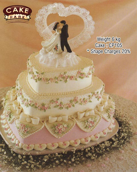 wedding cakes heart shaped 3 tier 3 tier shape cake manufacturer amp manufacturer from 24484