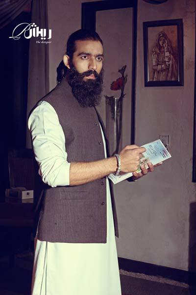 Men's Embroidered Fancy Design Kameez / Kurta Shalwar Easter Wear