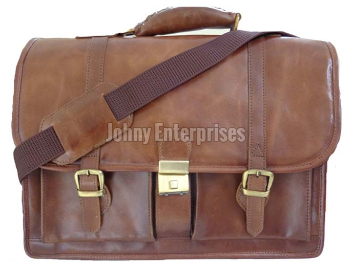 dd60c2a9a428 Mens Leather Bags Manufacturer offered by Johny Enterprises New Delhi Delhi