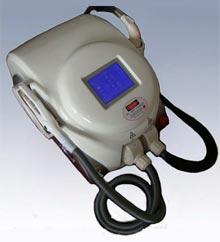 Portable E-Light Hair Removal Machine