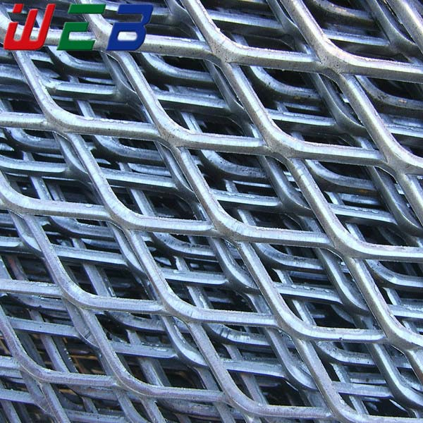 0.3-8.0mm Thick Expandable Sheet Metal Diamond Mesh (iso9001 Factory ...