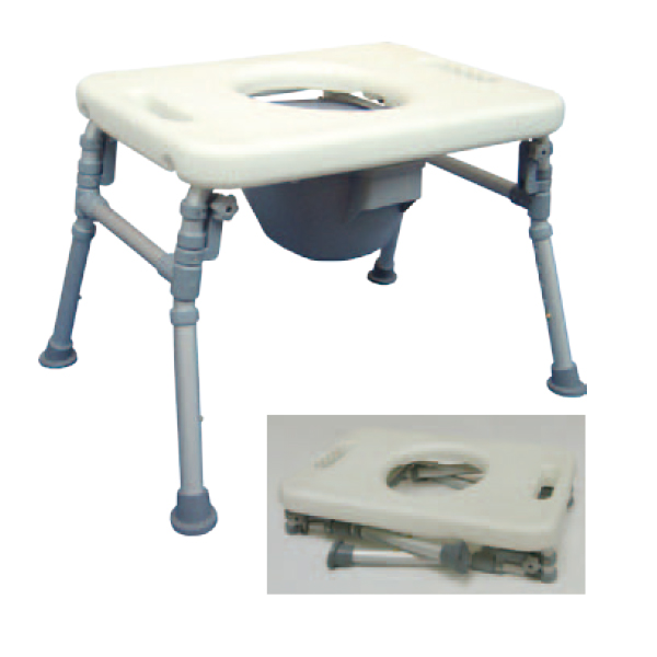 Over The Toilet Commode Chair - Mobroi.com