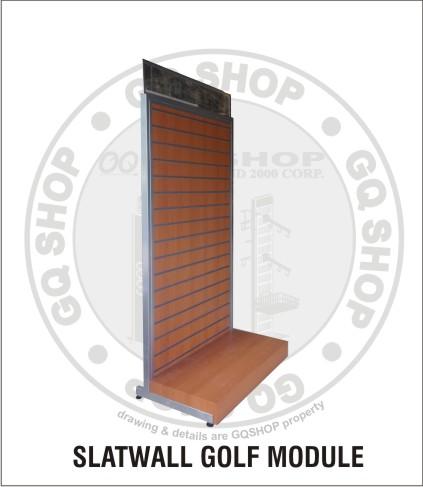 Slatwall Golf Holder