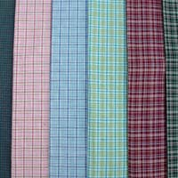 Cotton Yarn Dyed Woven Fabric