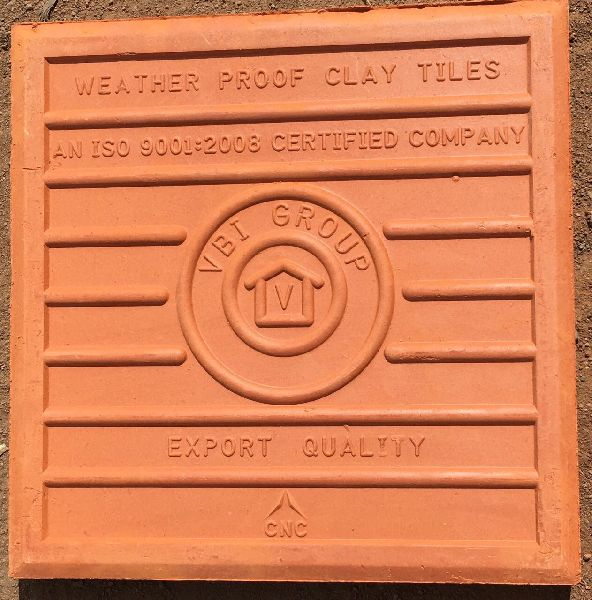 Buy red clay roofing tiles from Vbi Group Mangalore Tiles