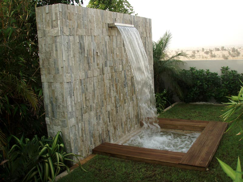 Services sheet waterfall designing and installation in for Waterfall installation