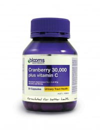 Cranberry 30,000 Plus Vitamin C Capsules
