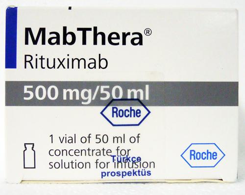 Mabthera 500 Mg/ 50 Ml 1 Vial