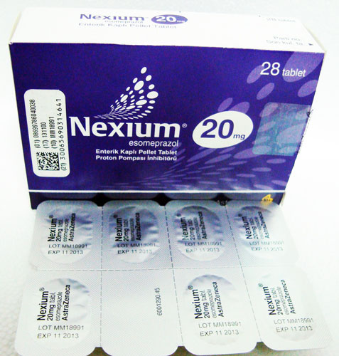 Nexium 20 Mg 28 Tablets