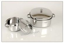 Stainless Steel Square Cook Serve Pot