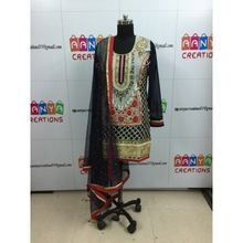 Indian Punjabi Style Fashionable Salwar Suit