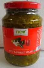 Hot And Sweet Relish