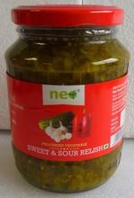 Sweet And Sour Relish