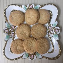 Crisp Coconut Biscuits