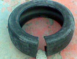 One Cut Tyre Scrap
