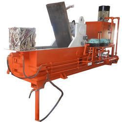 Triple Compression Scrap Baling Machine