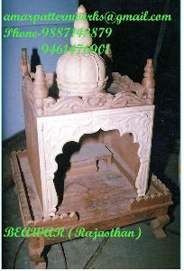 Wooden Carving Temple