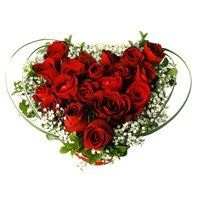 Passionate Eternal Red Roses Love Garden