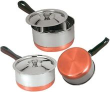 Stainless Steel Sauce Pan With Copper Plating