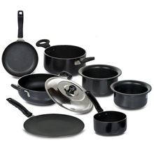 Utensils Cookware Hard Anodized Tadka Pan