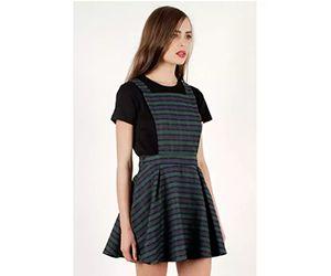 Womens Pinafore Dress
