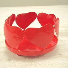 Heart Shaped Candle Pillar