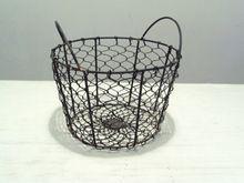 Iron Wire Egg Basket