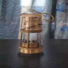 Antique Brass Anchor Minor Oil Lamp Lantern