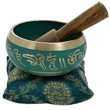 Dark Green Tibetan Singing Bowl