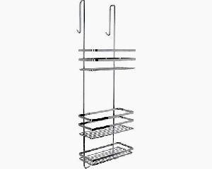 Bathroom Storage type Metal Hanging Shelf