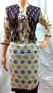 Tailor Made Soft Cotton Designer Kurtis
