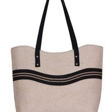 Handloom Striped Jute Bag