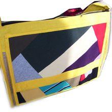 Jute Cotton Fabric Fashion Shoulder Bag