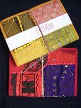 Recycle Fabric Kraft Paper Diary