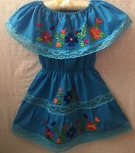 Mexican Style Girl Frock Dress
