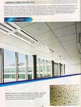 Mineral Fibre Fine Fissured Ceiling Tile