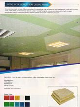Wood Wool Accoustic Ceiling Panel