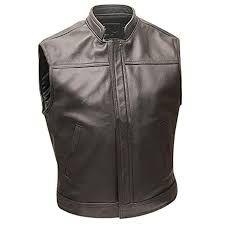 Leather Bikers Vest