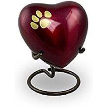 Heart Keepsake Pet Urn