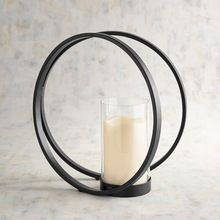 Iron Wire Candle Holder