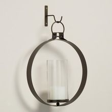 Metal Wall Scone Candle Holder