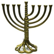 Brass Golden designer candle holder