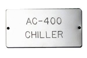 Stainless Steel Name Plates
