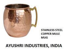 Stainless Steel Copper Bear Mule Mug