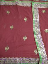 Hand Work Heavy Border Saree