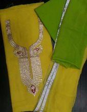 Pure Chanderi Jaipur Suits