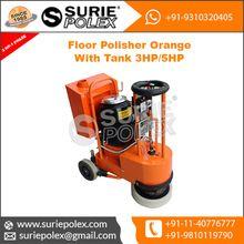 Floor Polisher Orange Tank