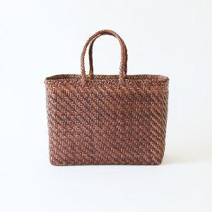 Basket Large Dragon Bag - Dark Brown