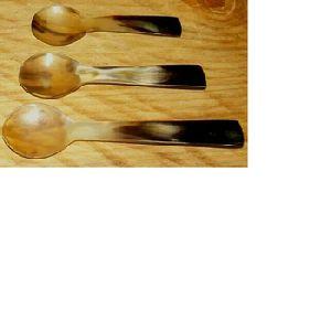handmade buffalo horn spoons