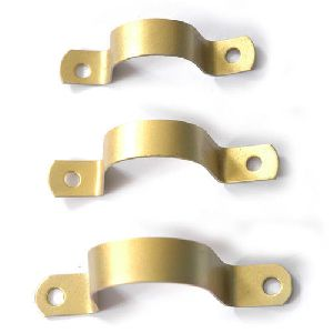 Brass Pipe Clamps